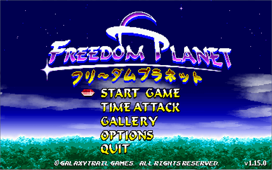 Ixzion Plays Freedom Planet