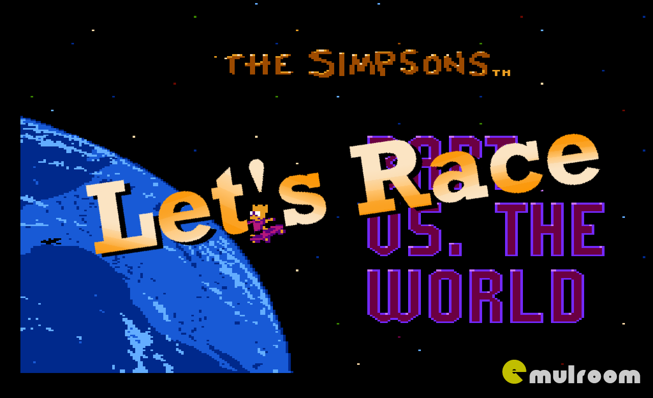 Let's Race Bart Vs The World