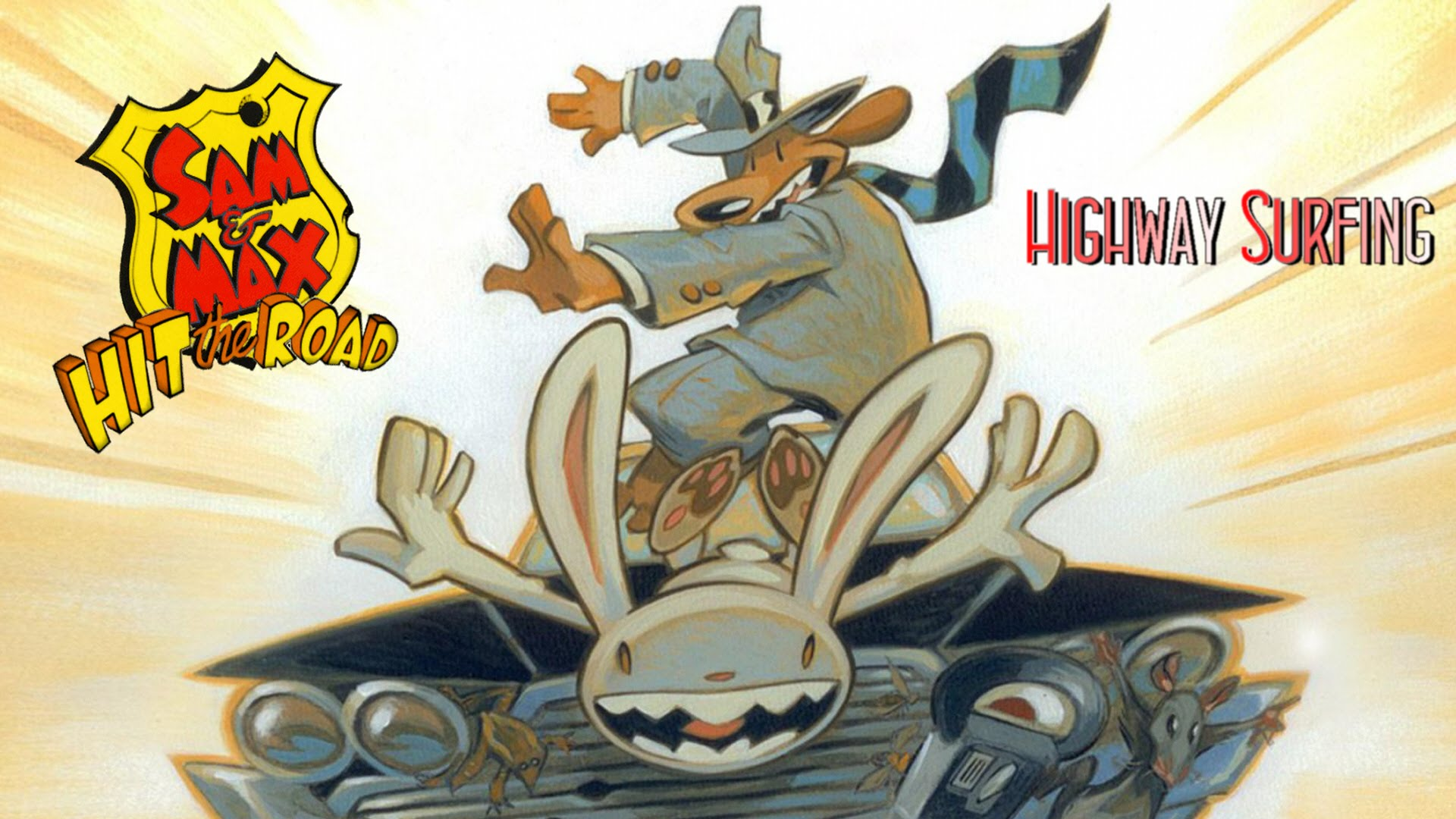 Let's Play Sam & Max Hit The Road
