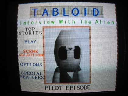 tabloid interview with the alien
